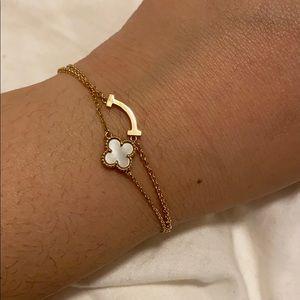 Tiffany T Smile Bracelet